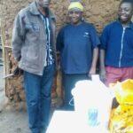 John with Stephen Karuga's family